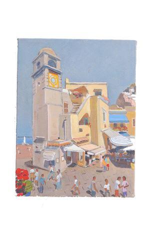 Oil on canvas , Piazzetta di Capri  Antonio Palomba | 20000003 | PIAZZACAPRI18X24