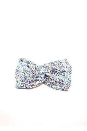 fascia per capelli con fantasia maiolica Aram Capri | 20000050 | FASCIA2016