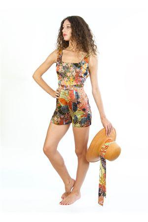 tuta corta in seta Blanche Capri Couture | 19 | BETTIEAFRICA