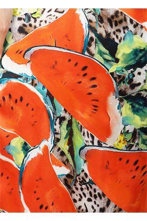 Watermelon pattern silk dress Blanche Capri Couture | 5032262 | BRIGITTEANGURIE
