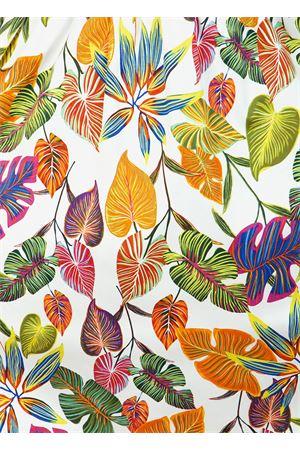gonna a ruota lunga con fantasia foglie Blanche Capri Couture | 15 | SOFIAGONNADOLCE