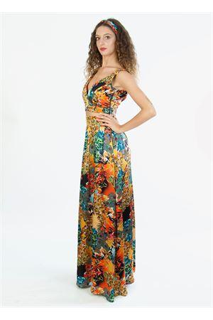 Top cropped in pura seta Blanche Capri Couture | 40 | SOFIATOPJUNGLE