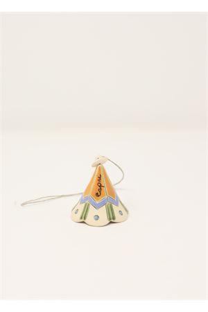 Campanella di capri in ceramica con decori Capri Bell | 20000008 | 20103729ARANCIONE