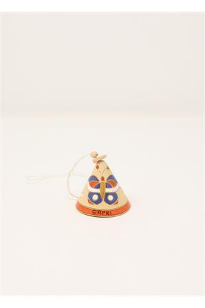 Campanella portafortuna con farfalla Capri Bell | 20000008 | 20110819ARANCIONE