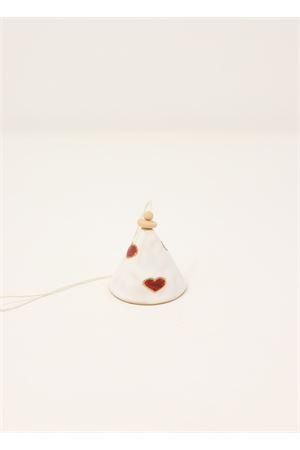 Campanella di Capri in ceramica con cuoricini Capri Bell | 20000008 | 20122003CUORI