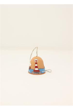 campanella di capri in ceramica con faro Capri Bell | 20000008 | 20123277ROSSO