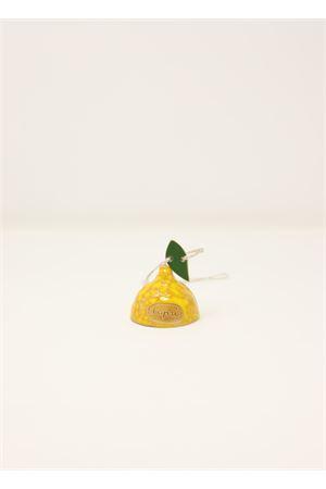 campanella limone in ceramica Capri Bell | 20000008 | 20123819GIALLO