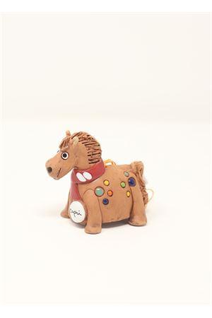 campanella portafortuna in ceramica a forma di cavallo Capri Bell | 20000008 | 20124670CAVALLONATALIZIO
