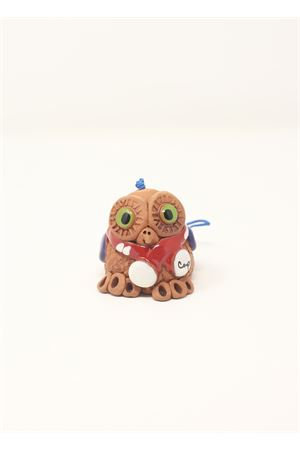 Owl shaped capri bell in ceramic  Capri Bell | 20000008 | 20124670GUFONATALIZIO
