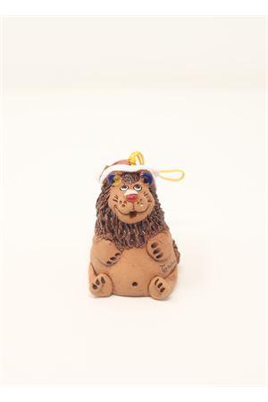 Leone campanella  portafortuna in ceramica Capri Bell | 20000008 | 20124670LNATALIZO