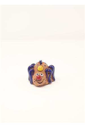 campanella portafortuna in ceramica Ragno Capri Bell | 20000008 | 20124670RAGNONATALIZIO