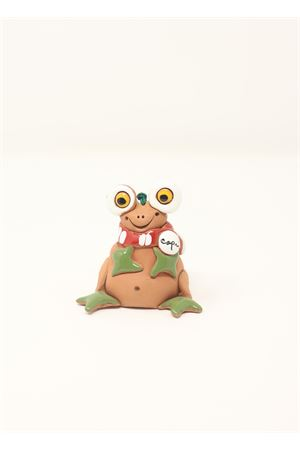 Frog shaped ceramic bell  Capri Bell | 20000008 | 20124670RANANATALIZIA