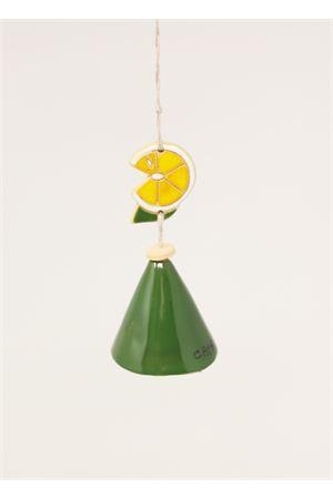 Campanella portafortuna con fetta di limone Capri Bell | 20000008 | 20125080FETTALIMONE