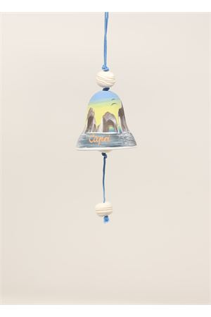 Capri bell with small painting of Faraglioni  Capri Bell | 20000008 | 20125097BLU
