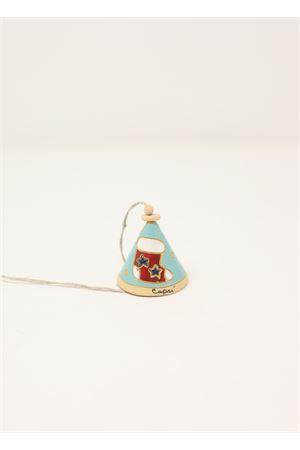 Campanella di capri decorativa in ceramica Capri Bell | 20000008 | 20125448AZZURRO