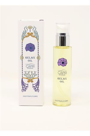 Body oil with lavender, ylang ylang, tea tree and geranium essence  Capri Breeze | 20000042 | SENSUAL OILLAVANDA