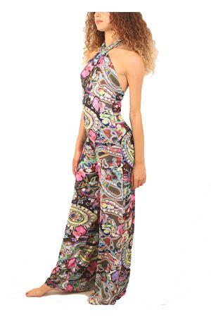 Floral pattern jumpsuit in jersey  Capri Chic | 19 | TUTAJERSEYFIORIMULTI
