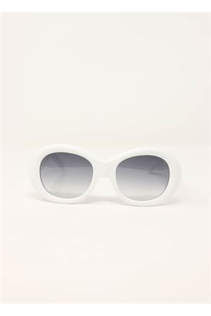 White sunglasses vintage style Capri People | 53 | 9030BIANCO