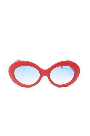 Occhiali da sole rossi stile vintage Capri People | 53 | JACQUELINEROSSOMATTO