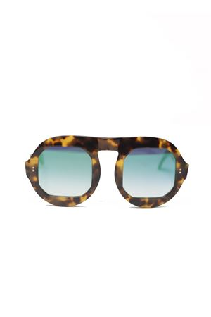 Square frame tortoise sunglasses  Capri People | 53 | LUPIENMACULATOLUCIDO
