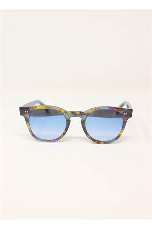 Occhiali da sole colorati con lente azzurra Capri People | 53 | MAREMULTI