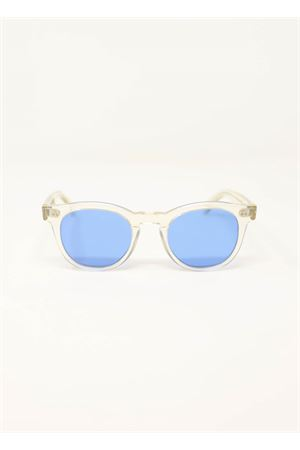Transaprent frame sunglasses with blue lenses Capri People | 53 | MARETRASPARENTE