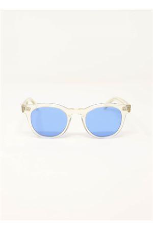 Occhiali da sole trasparenti con lenti azzurre Capri People | 53 | MARETRASPARENTE