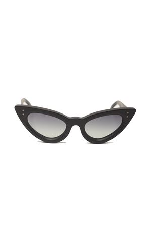 Cat eye black sunglasses Capri People | 53 | SAMANTANERO