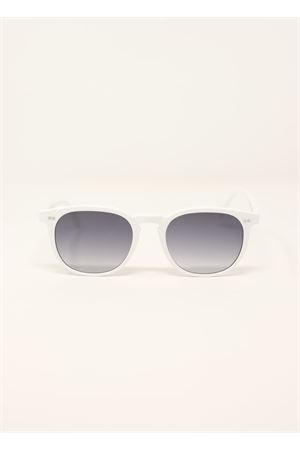 White unisex sunglasses Capri People | 53 | TIBERIOBIANCO