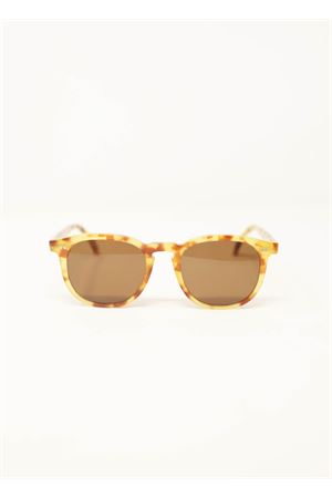Unisex tortoiseshell frame sunglasses Capri People | 53 | TIBERIOTARTARUGA