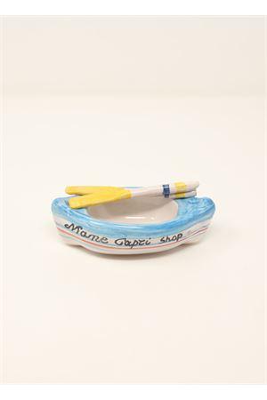 barchetta a remi di capri in ceramica personalizzabile Ceramicapri | 5032239 | BARCHETTAREMIAZZURRA