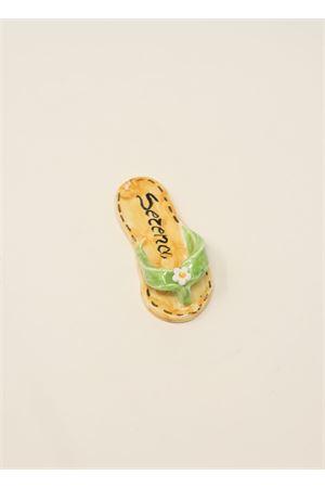 Green capri sandal magnet Ceramicapri | 20000005 | SANDALETTIMAGNETEVERDE