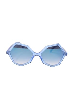 Vintage style blue water color sunglasses Cimmino Lab | 53 | CAPRILEAZZURRO