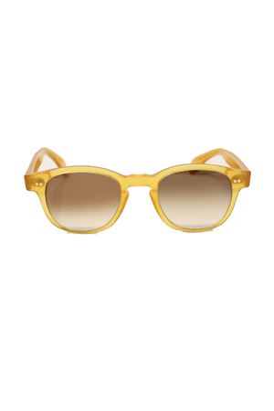 Yellow unisex sunglasses Cimmino Lab | 53 | CASAROSSA2GIALLO