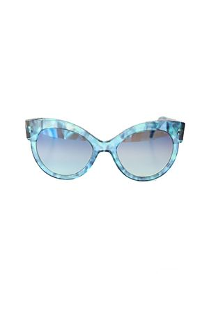 Occhiali da sole stile vintage blu Capri Cimmino Lab | 53 | FENICIATARTABLU