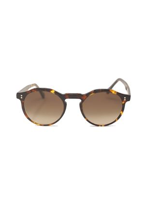 unisex tortoiseshell brown sunglasses Cimmino Lab | 53 | MARINAGRANDETARTARUGATOMARRONE