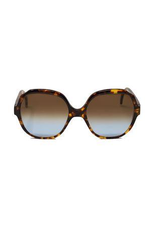 Occhiali da sole con montatura stile vintage tartarugata Cimmino Lab | 53 | TRAGARATARTARUGATOMARRONE