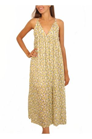 Long dress with lemons pattern  Colori Di Capri | 5032262 | ABITORIANGOLOLIMONI