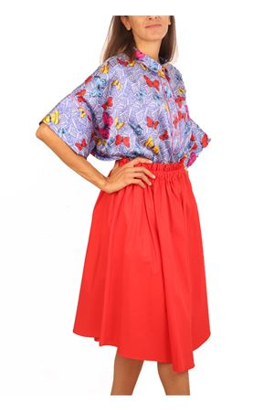 Coral full skirt Colori Di Capri | 15 | GONNARUOTACORALLO