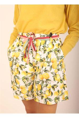 short vita alta con fantasia di limoni Colori Di Capri | 30 | SHORTMAXILEMONS