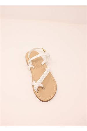 Capri sandals for baby girl  Cuccurullo | 5032256 | DITOTRECCIABABYBIANCOP