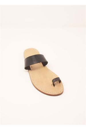 Capri sandals with blakc band Cuccurullo | 5032256 | FASCIAALLUCEBNERO