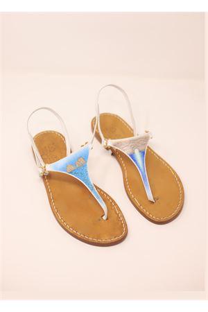 Hand-painted Capri sandals  Cuccurullo | 5032256 | PAINTEDCAPRIFARAGLIONI