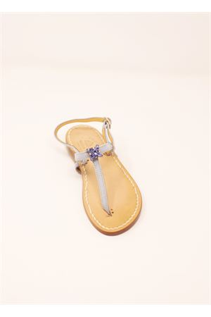 Jewel sandals for baby girl  Cuccurullo | 5032256 | PUNTOLUCEBABYLILLA