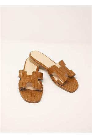 Brown Da Costanzo Capri sandals  Da Costanzo | 5032256 | 2508COCCO