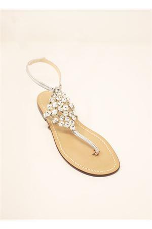 Sandali gioiello alti alla caviglia Da Costanzo | 5032256 | ROMBOBIGBIANCO