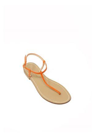Sandali capresi infradito semplice arancione Da Costanzo | 5032256 | S1918ARANCIOVI