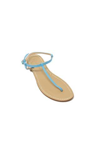 sandali capresi infradito semplice turchese Da Costanzo | 5032256 | S1918TURCHESE
