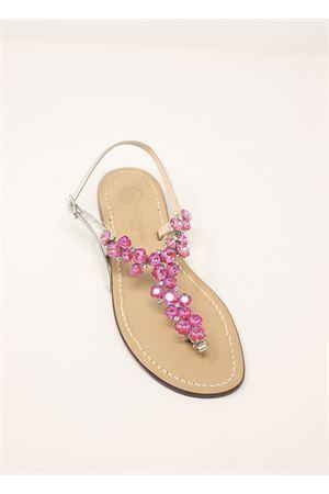 Sandali gioiello fucsia Da Costanzo | 5032256 | S3099FUCSIA