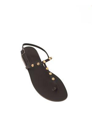 sandali capresi con borchie Da Costanzo | 5032256 | STUDSNEWNEROGOLD